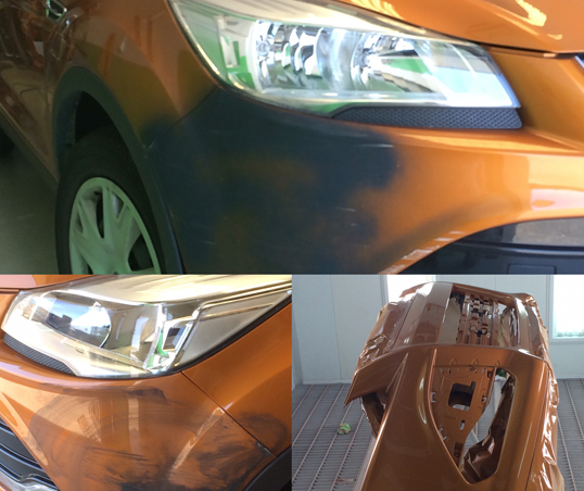 , Bumper Touch Up Specialists, Spray Paint Gold Coast